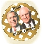 Bush, Cheney Gold 2000 Jugate