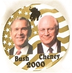 Bush, Cheney Gold Jugate