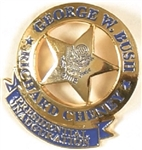 GW Bush Star Inaugural Badge