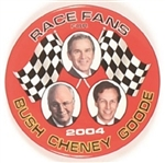 Bush, Cheney, Goode NASCAR Celluloid