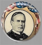 McKinley Flag Celluloid