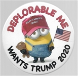 Deplorable Me Wants Trump