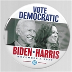 Biden, Harris Vote Democratic Jugate