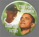 Obama, Tiger Woods Grand Slam