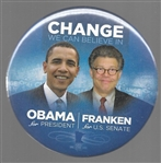 Obama, Franken Change We Can Believe In