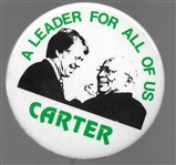 Carter, King Leader for All of Us