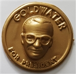 Barry Goldwater 3-D Jiffy Badge