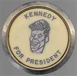 Kennedy for President Tie Clasp