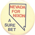 Nevada for Nixon a Sure Bet