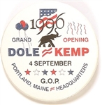 Dole, Kemp Maine Headquarters Grand Opening