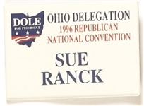 Dole Ohio Delegation, Sue Ranck
