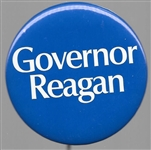 Governor Reagan 1970 Blue 2 1/4 Inch Pin