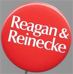 Reagan & Reinecke 2 1/4 Inch Red 1970 Celluloid