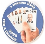 Biden Winning Hand of Aces