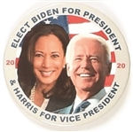 Biden, Harris Colorful Jugate