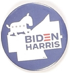 Biden, Harris Ohio Celluloid