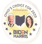 Biden, Harris Ohios Choice for 2020