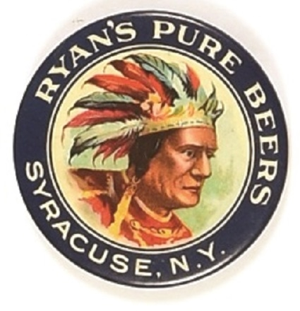 Ryan's Pure Beers Indian Mirror