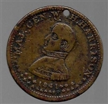 William Henry Harrison Eagle Token
