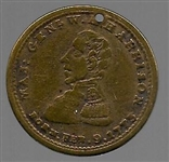 William Henry Harrison Log Cabin Token