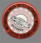 United Auto Workers 1937 Labor Union Pin