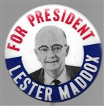 Lester Maddox for President
