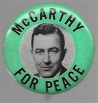 McCarthy for Peace