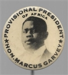 Marcus Garvey, Provisional President of Africa