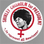 Shirley Chisholm to Represent All Americans