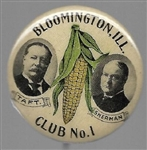 Taft, Sherman Bloomington, Illinois, Club No. 1