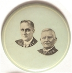 Roosevelt and Garner Rare Campaign Mirror