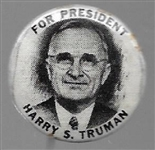 Harry S. Truman for President Small Picture Pin