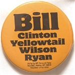 Bill Clinton, Yellowtail Montana Coattail
