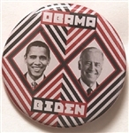 Obama, Biden Scarce Jugate With Unusual Design