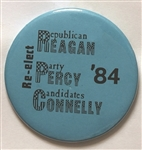 Reagan, Percy Connelly Illinois Coattail