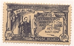 Hughes Scarce Justice Stamp