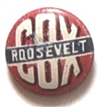 Cox, Roosevelt Red Litho