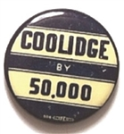 Coolidge by 50,000