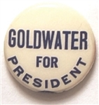 Goldwater for President Small Celluloid