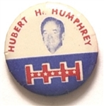 Humphrey HHH Scarce 1 Inch Celluloid