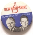 Humphrey, Muskie State Set New Hampshire
