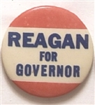 Reagan for Governor 1 1/4 Inch Red Version