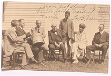 Coolidge and Friends (Edison, Ford) Postcard