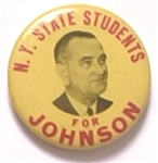 New York Students for Johnson, Yellow Version