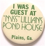 Carter Guest at Miss Lillians Pond House