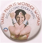 Obama, Anti Sarah Palin Wonder Woman