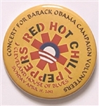 Obama Red Hot Chili Peppers