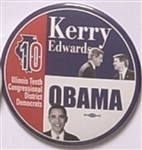 Kerry, Obama Illinois Coattail