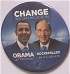 Obama, Rockefeller West Virginia Change