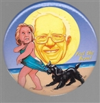 "Bernie Sanders ""Coppertone"" by Brian Campbell"